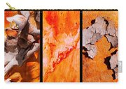 Salmon Gum Tree Triptych  #3 Carry-all Pouch