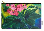 Salmon Pink Geraniums Carry-all Pouch