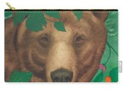 Salmonberry Bear Carry-all Pouch
