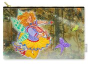 Salmonberry Fairy Merri Goldentree Carry-all Pouch