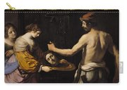 Salome Receiving The Head Of St John The Baptist Carry-all Pouch