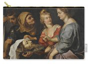 Salome With The Head Of St. John The Baptist Carry-all Pouch