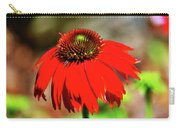 Salsa Red Coneflower Carry-all Pouch
