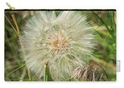 Salsify Seed Head Carry-all Pouch