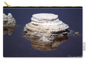 salt cristal at the Dead Sea Israel  Carry-all Pouch