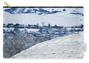 Salt Lake City Tabernacle In Snow Carry-all Pouch