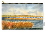 Salt Marsh And Snow Geese Carry-all Pouch