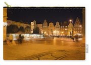 Salt Square In Wroclaw At Night Carry-all Pouch