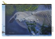 Salt Water Ballet - Manatees - 2 Carry-all Pouch
