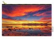 Salton Sea Sunset Carry-all Pouch