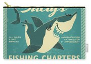 Salty's Fishing Charters Carry-all Pouch