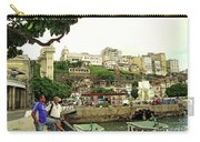 Salvador's Old Port At Noon Carry-all Pouch
