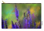 Salvia May Night Art -purple Modern Abstract Art Carry-all Pouch