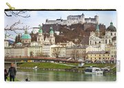 Salzburg City And Fortress  Carry-all Pouch
