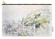 Salzburg Sunrise  Carry-all Pouch by Clive Metcalfe