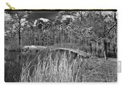 Sam Houston Jones State Park Bridge Bw Carry-all Pouch