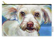 Sam The Maltese Mix Carry-all Pouch