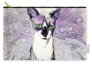 Sam The Sphinx Carry-all Pouch