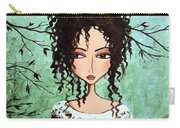 Samantha's Chocolate Tree Carry-all Pouch