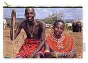 Samburu Couple Carry-all Pouch