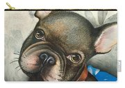 Sammy The French Bulldog Carry-all Pouch