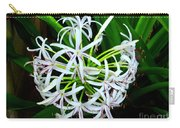 Samoan Spider Lily Carry-all Pouch