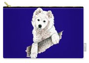 Samoyed Puppy Carry-all Pouch