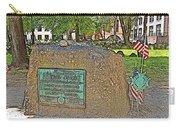 Samuel Adams Gravestone At Granary Burying Ground In  Boston-massachusetts Carry-all Pouch