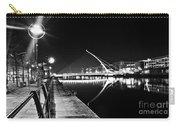 Samuel Beckett Bridge 2 Bw Carry-all Pouch