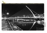 Samuel Beckett Bridge 5 Bw Carry-all Pouch