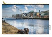 Samuel Beckett Bridge, Dublin, Ireland Carry-all Pouch