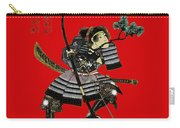 Samurai With Bow Carry-all Pouch