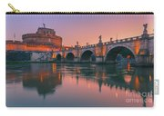 San Angelo Bridge And Castel Sant Angelo Carry-all Pouch
