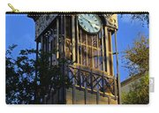 San Antonio Clock Carry-all Pouch
