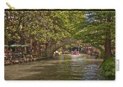 San Antonio Riverwalk Carry-all Pouch by Steven Sparks