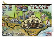 San Antonio Texas Carry-all Pouch