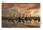 San Diego Fishing Fleet At Sunset Carry-all Pouch