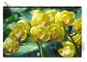 San Diego Yellow Orchids Carry-all Pouch