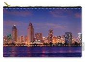 San Diego Skyline At Dusk Carry-all Pouch