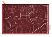 San Diego State Street Map - San Diego State University San Dieg Carry-all Pouch