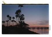 San Diego Sunset With Palm Trees Carry-all Pouch