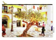 San Felice Circeo Olive Tree In The Square Carry-all Pouch