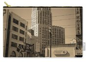 San Francisco Architecture, 2007 Sepia Carry-all Pouch