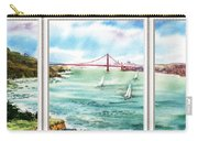 San Francisco Bay View Window Carry-all Pouch