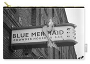 San Francisco Blue Mermaid Bw Carry-all Pouch