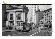 San Francisco Cable Car During Wwii Carry-all Pouch