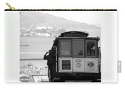 San Francisco Cable Car With Alcatraz Carry-all Pouch