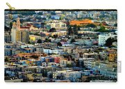 San Francisco California Scenic  Rooftop Landscape Carry-all Pouch