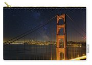 San Francisco City Skyline Through Golden Gate Bridge Carry-all Pouch