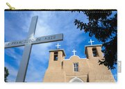 San Francisco De Asis - Rancho De Taos Carry-all Pouch